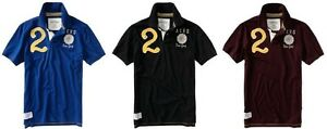 Aeropostale-men-Athletic-2-Rugby-JERSEY-POLO-T-shirt-XS-S-M-L-XL-2XL-NEW-NWT