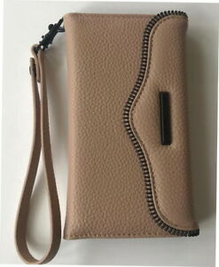 super popular 334f9 3f1c9 Details about Rebecca Minkoff MAB Tech Wristlet for iPhone 7 & 8  RMIPH-016-ND - Nude