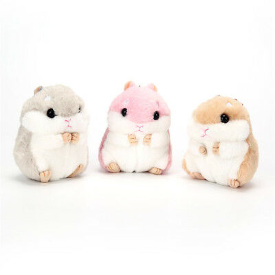 Cute Kawaii Hamster Pendant Keyring Keychain Handbag Car Keys Chain Decor DO