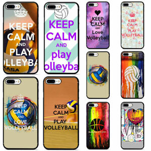 Keep-Calm-and-LOVE-Volleyball-Soft-TPU-Phone-Case-for-iPhone-XS-Max-XR-X-8-7-6
