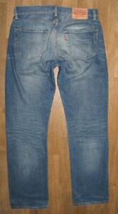 WOW-LEVI-S-504-Herren-JEANS-LEVIS-Blue-Jeans-in-blau-in-W32-034-L32-034