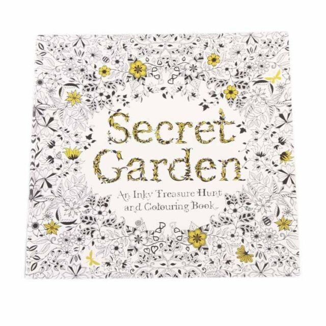 Hot Sale 8 Types Kid Adult English Secret Garden Coloring Painting Book New Gift