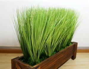 Artificial Leaf Onion Grass Plant Silk Flower Home ...