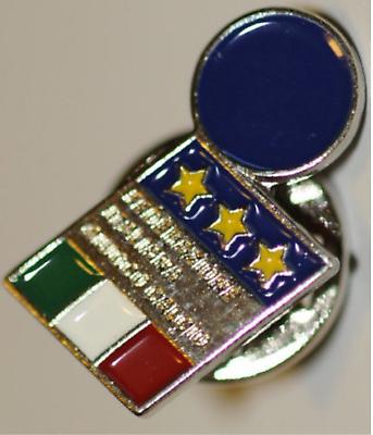 Obbiettivo Prl) Figc Pin Spilla Calcio Soccer World Cup Mondiale Football Italia Federaz. Garantire Un Aspetto Simile Al Nuovo In Modo Indefinibile