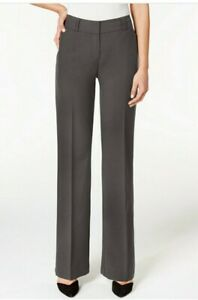 Alfani Pants Curvy Bootcut Regular Color Charcoal Size 6 New With Tags