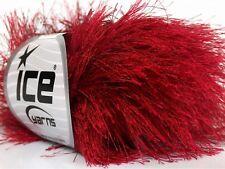 38Yd Grape Purple Extra Long Eyelash Yarn 42072 Ice Luxurious New Fun Fur 50Gram