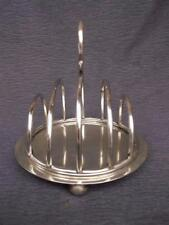448 / ANTIQUE LATE 19TH CENTURY EPNS SILVER PLATED TOAST RACK.