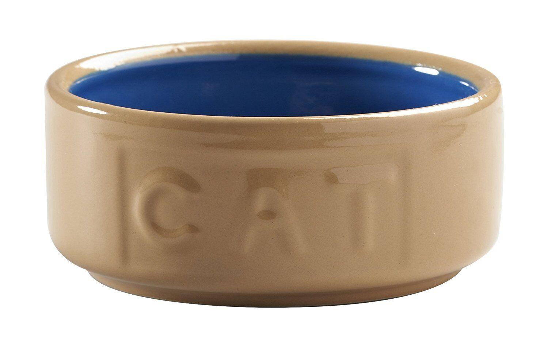 Mason Cash con letras gato Comedero Caña 12.7cm