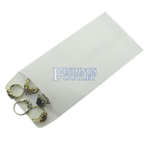 """White Wove Envelope 6.5/"""" x 3.5/"""" #7 Coin Small Parts 24lb Gummed Flap Pack of 500"""