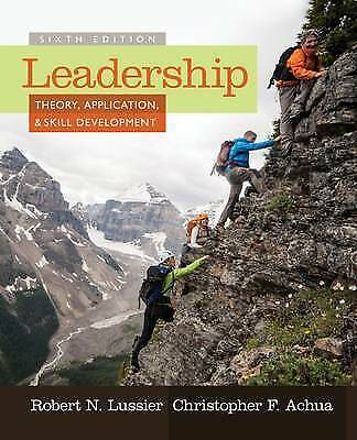 NEW - 3 DAYS to AUS - Leadership Theory Application & Skill Development LUSSIER