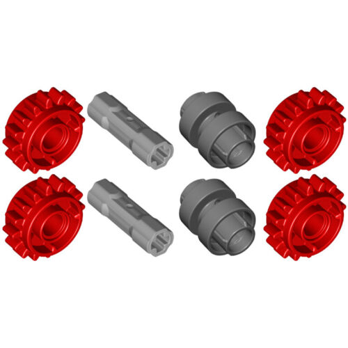 Makes 2 Sets Lego 8x Genuine Technic Clutch Gear Shifter 18946 18947 42195 NEW