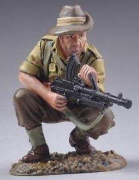 THOMAS GUNN WW2 PACIFIC RS006B ALLIED BREN GUNNER KNEELING MIB