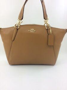New Coach F26917 F28993 Leather Small Kelsey Satchel Purse Handbag ... 79c9cb50d56c3
