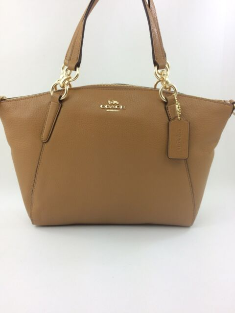 bb8631ca08c6 wholesale coach brown leather messenger bag fff65 e126a  store new coach  f26917 f28993 leather small kelsey satchel purse handbag light saddle 65b73  52115