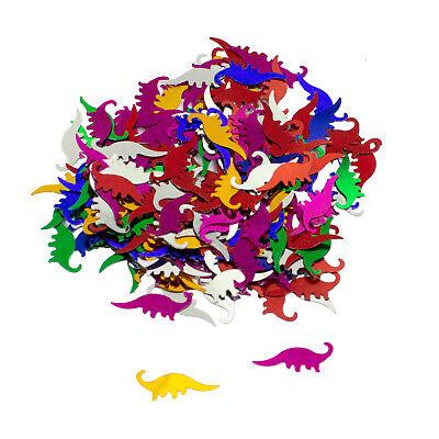 Dino Konfetti bunt Kinder Geburtstag Dinosaurier Tisch Deko Streudeko 14g