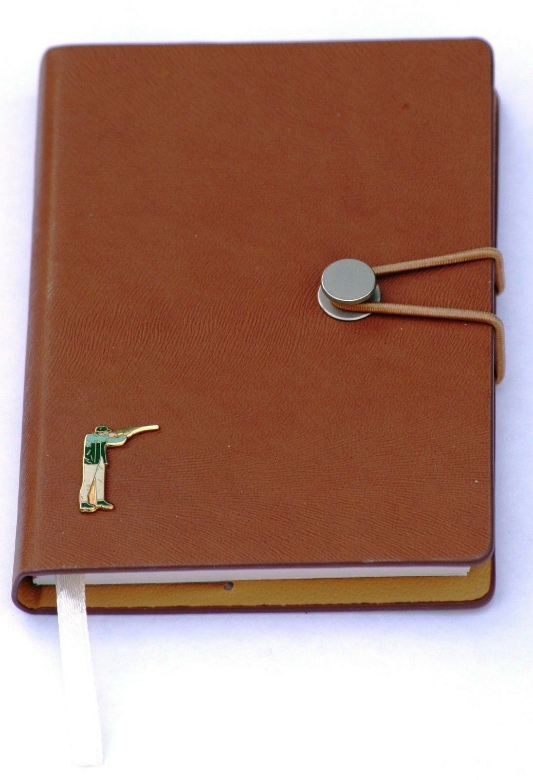 Clay Pigeon Shooter Notepad Jotter Notebook Record Ideal Gift A6