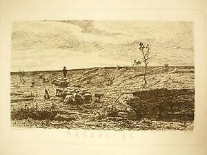 Brughiera-Italy-Italia-Eau-Forte-per-Bignami-Adolfo-1845-1906-Acquaforte-1870