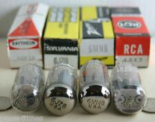 ((( LOT OF 4 ))) RCA RAYTHEON... 6GF7A 6J28 6MN8 6AX3 VACUUM RADIO TUBE TUBES