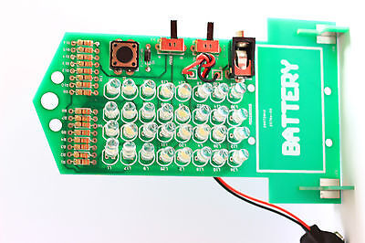 LED LAMP WITH THREE CONTROL  LEARNING  ELECTRONIC PCB DIY KIT
