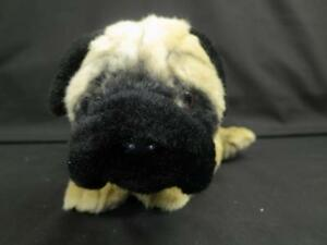 black pug stuffed animal big animal alley black tan pug puppy dog toys quot r quot us 2000 3061