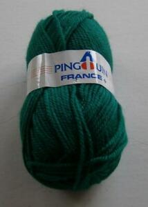 PINGOUIN-FRANCE-LOT-OF-14-BALLS-BLUE-GREEN-700gr-dk-weight