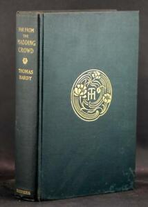 Thomas-Hardy-Signed-1905-Far-From-the-Madding-Crowd-Wessex-Novel-Hardcover