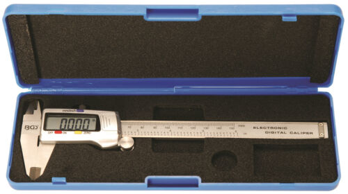 digital Messschieber Messchieber Schieblehre bis 300 mm Präzisions analog BGS