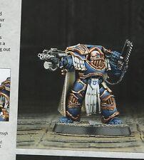 Warhammer 40k Captain Aethon in Terminator Armor Betrayal at Calth Horus Heresy