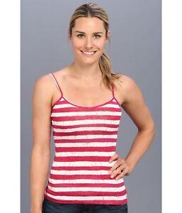 Patagonia Womens Spright Cami Batik Stripe/Radiant Magenta - Shirts & Tops