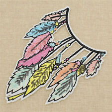 FD4821 Rainbow Cloud Embroidery Patch Sew Iron Cloth Bag DIY Fabric Sticker 1pcΔ