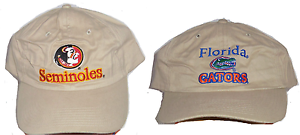 Image is loading NCAA-College-Hat-Florida-Seminole-FSU-Gators-FU- 16397ae61544