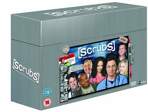 Image Is Loading Scrubs Complete Series Collection 1 9 Dvd Box