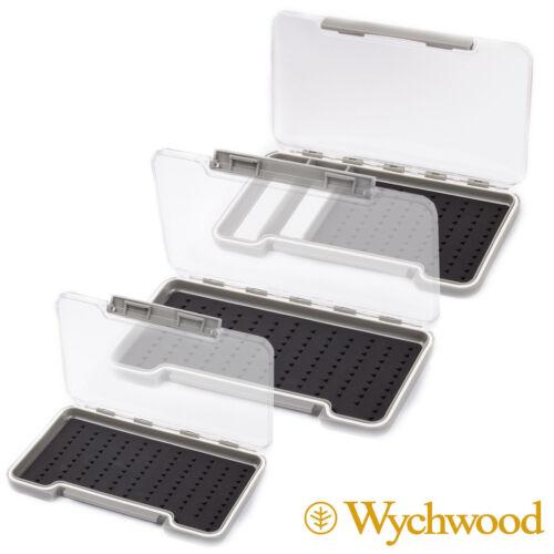 Wychwood Gancio in silicone-Hold FLY BOX-trota gioco PESCA a mosca-dimensioni a scelta