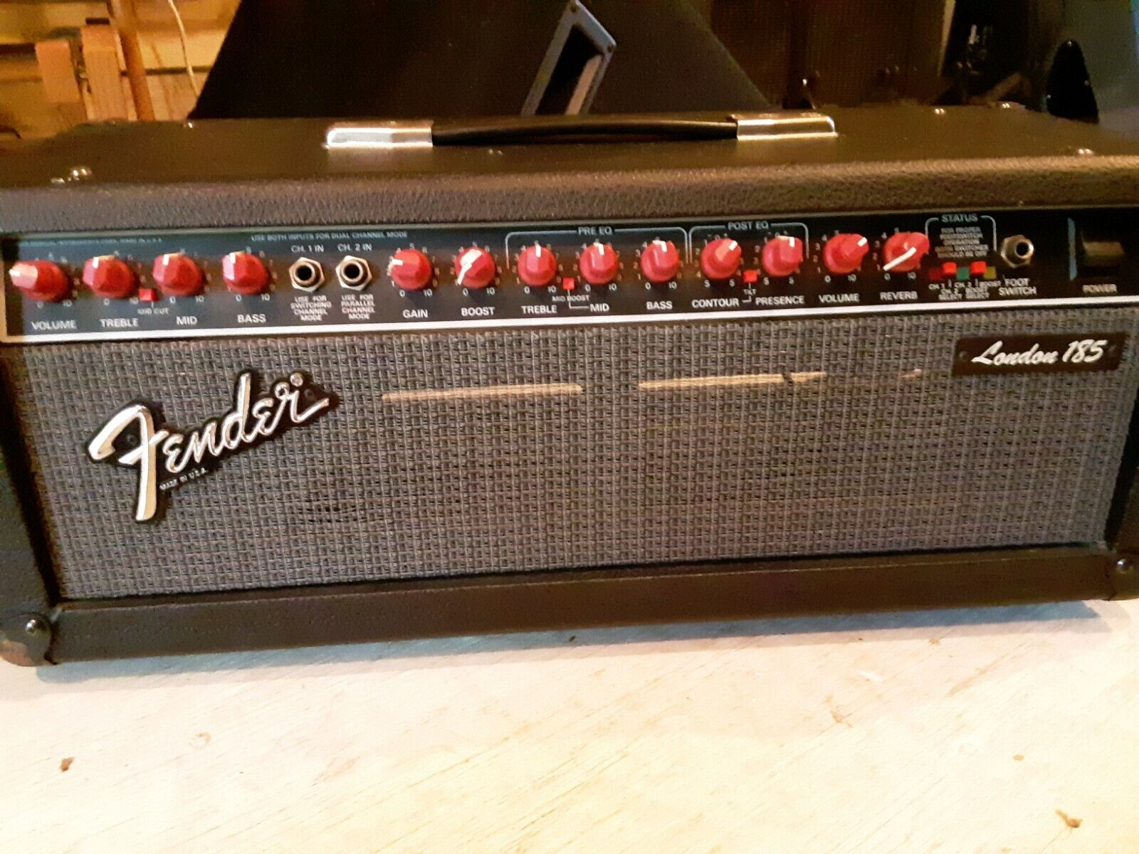 Fender London 185 solid state head amp, excellent condition. Buy it now for 380.00