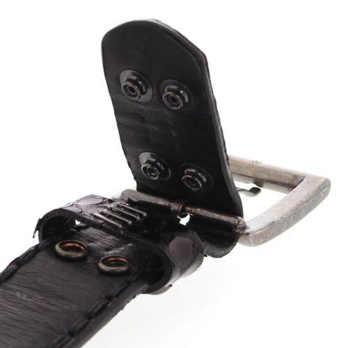Sendra Boots Gürtel 1016 Python Schwarz Ledergürtel