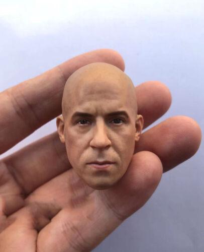 "1//6 Scale Vin Diesel Head Sculpt Fast /& Furious for 12/"" Action Figure"
