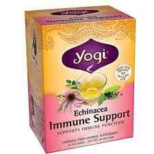 Yogi Herbal Tea Bags, Echinacea Immune Support 16 ea