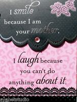 Hobby Lobby Mini Pocket Embellished Note Pad I Am Your Mother