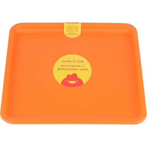 Sold Individually Microwave-Safe Kid-Sized Lollaland Mealtime Plate: US-made