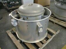 Acme Centri Master Exhaust Fan Pnu135rg 0750hp 60hz 3ph Used