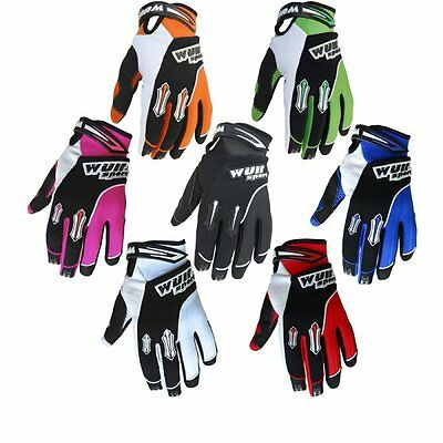 Wulfsport Children Kids Stratos Motocross Motorbike Gloves ATV Dirt Quad Bike Off Road Gloves Pink XXS 6cm