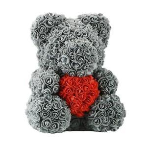 15 Rose Bear Heart Roses Flower Crafts Valentine S Day Birthday