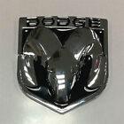 Dodge Ram Chrome Black Ram Head Medallion Tailgate Emblem 1500-3500 Decal Badge
