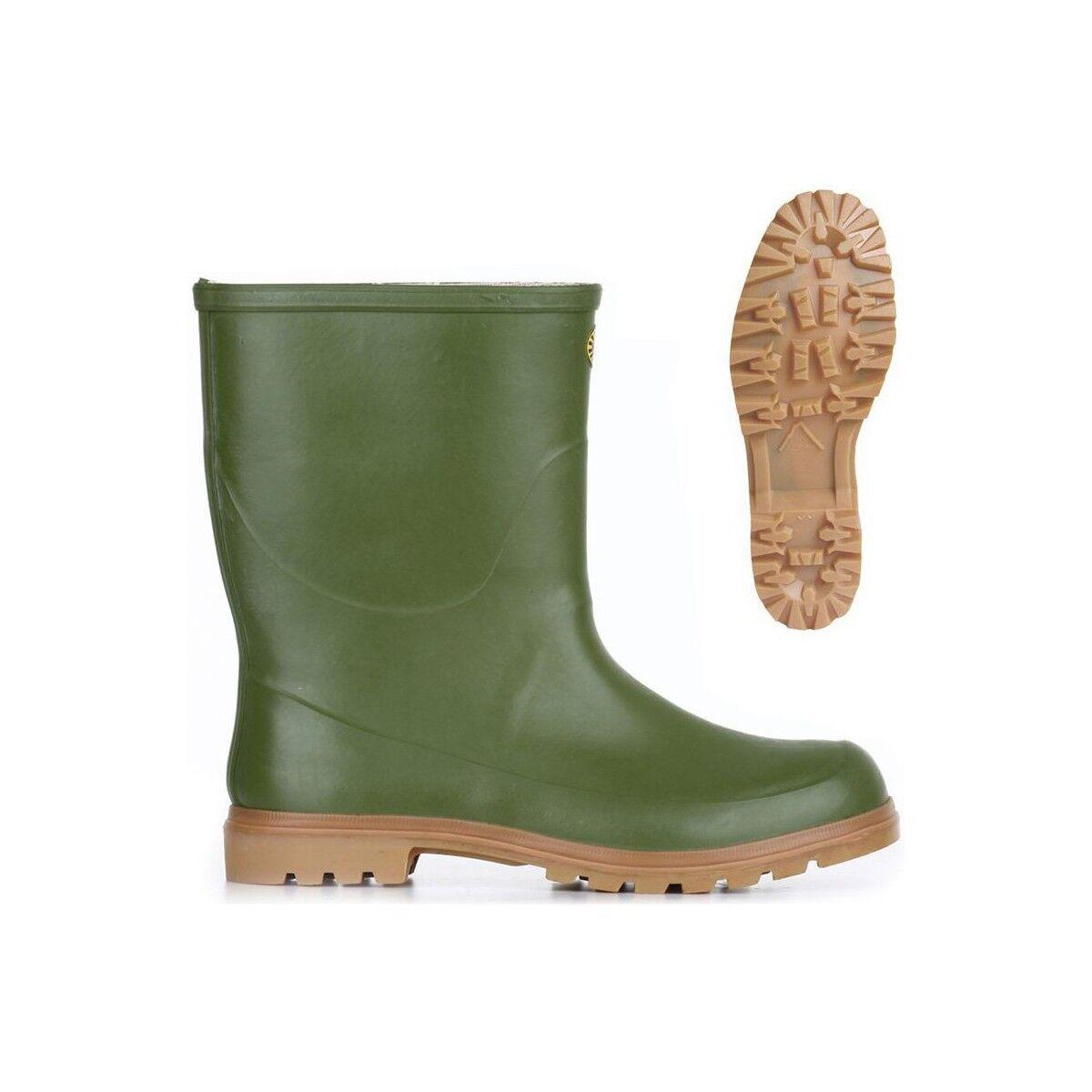 botas gomma hombres mujer SUPERGA 7133 TRONCHETTO ALPINA pioggia verde OLIVA 927d