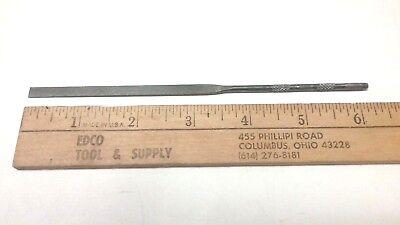 """NEW Grobet #4 Cut Die Sinker Riffler File Made in Switzerland     32 6/"""" Long"""