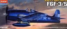 Academy Grumman F6F-3 o F6F-5 Hellcat Modello Kit 1:72 USS Yorktown Hornet