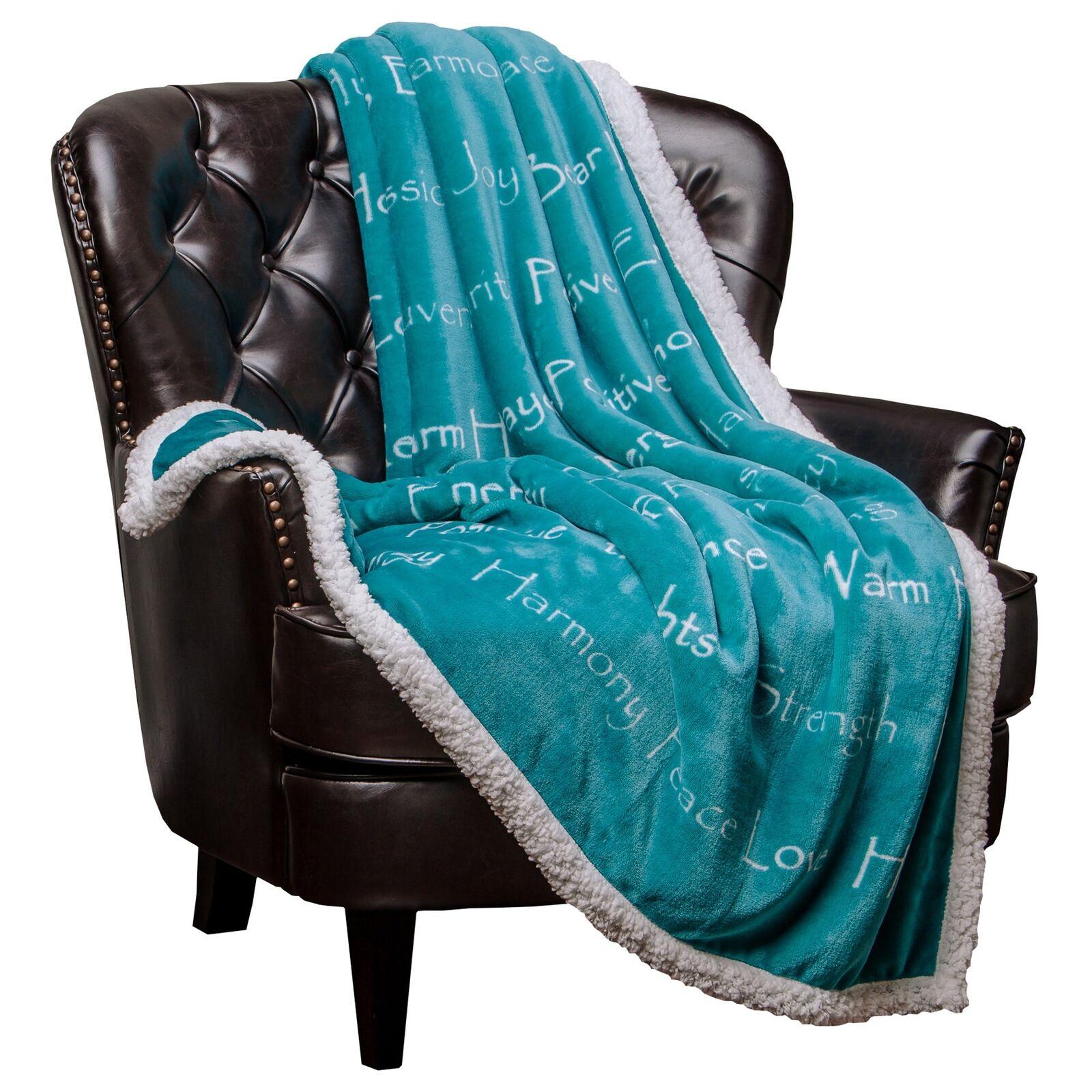 Chanasya Warm Hug Positive Energy Healing Thoughts Throw Blanket - Get Well Soon