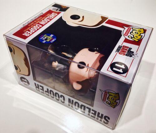 "4/"" Vinyl Figures  Clear Custom Display Cases 250 Box Protectors For FUNKO POP"
