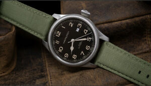 Barton PREMIUM NYLON WEAVE SAILCLOTH  Quick Release Watch Straps 18 20 22 24mm