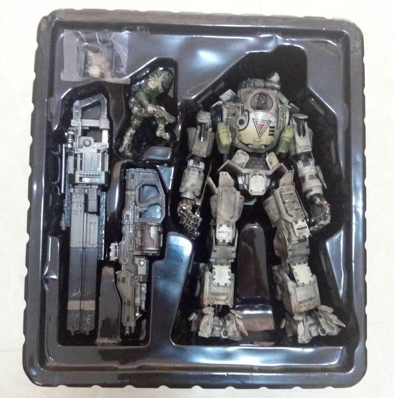 10  Titanfall ATLAS Action Figure Titan Pilot Battle Mech KAI Play Arts Toy Gift